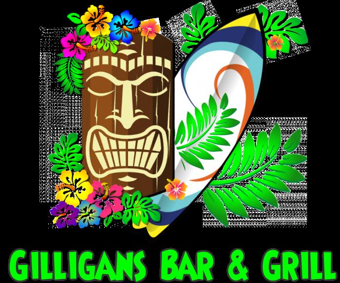 Gilligans Restaurant Maui Tikiman Logo
